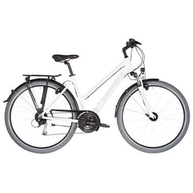 Vélo de Voyage VERMONT BRENTWOOD TRAPEZ Femme Blanc 2021